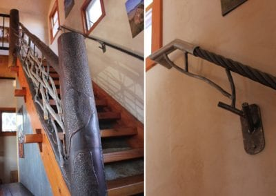 big-timberworks-showroom-hand-forged-and-hammered-railing-with-reclaimed-ski-cables_montana1