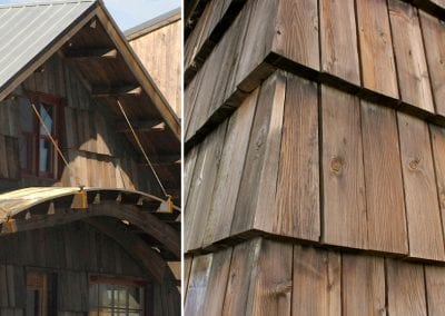 big-timberworks-showroom-reclaimed-cross-arms-from-utility-pole-siding_montana