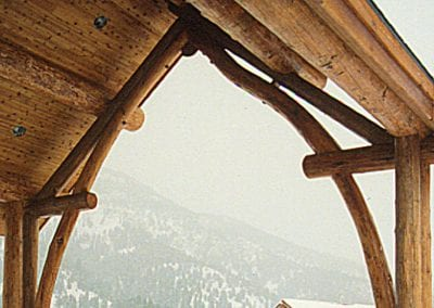 Custom Timberframe, Big Sky Chapel - Big Sky, MT