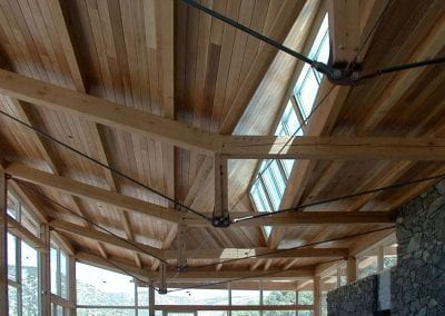 Custom Timber Frame, Camp Paint Rock_Hyattville, WY