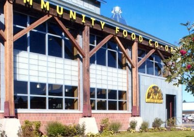 Custom Timber Frame, Community Food Co-op Timbers_Bozeman, MT