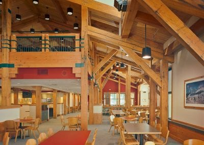 Custom Timber Frame, Deer Park Chalet_Bridger Bowl, MT