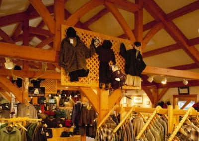 Custom Timber Frame, Madison River Outfitters_West Yellowstone, MT