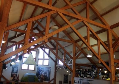 Custom Timber Frame, Northern Lights Trading Company_Bozeman, MT