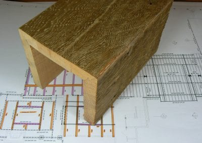What are box beams?