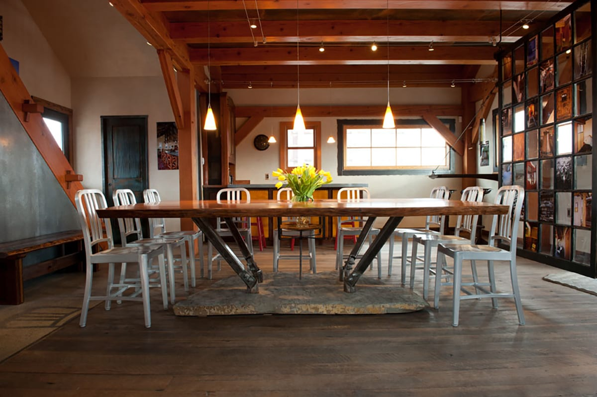 Live Edge Conference Table Custom Wood Conference Tables