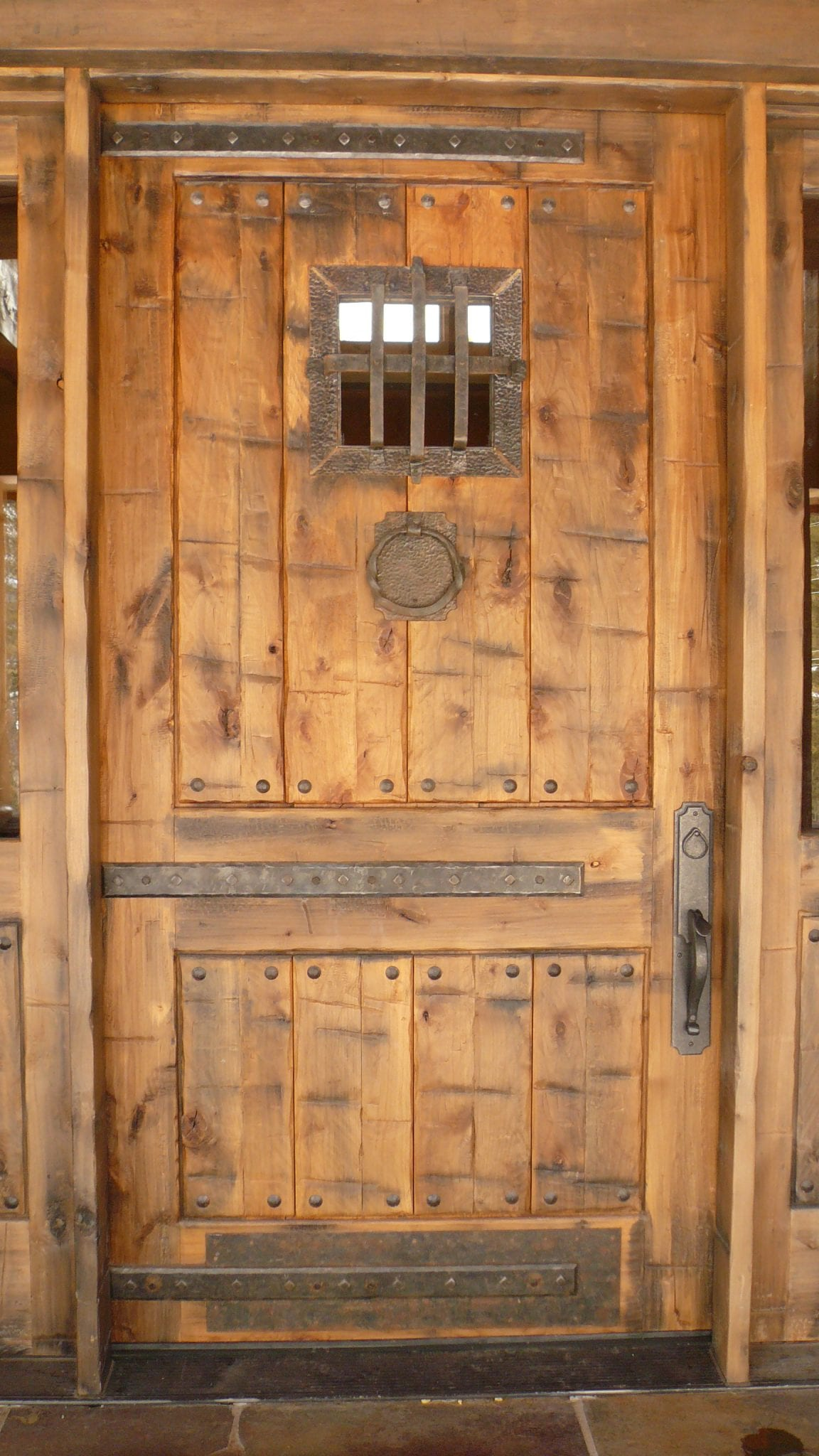By using custom designs of reclaimed wood the front door of your home the doors to your bedrooms or the door to your office can reflect that same sense ... & Reclaimed Wood Doors For Sale by Big Timberworks
