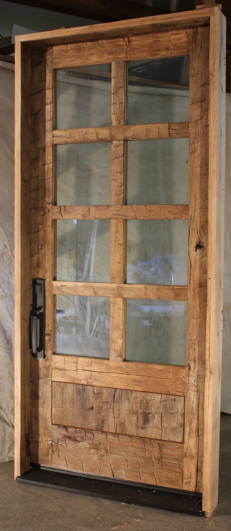 Reclaimed barn doors for sale longleaf lumber reclaimed for Old wood doors salvaged
