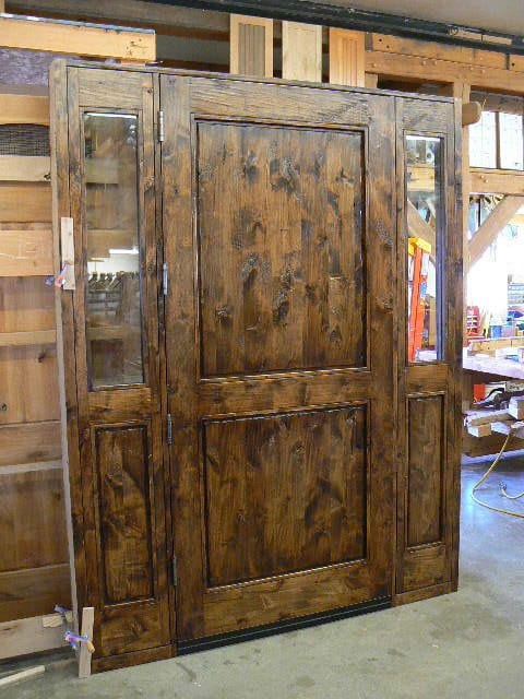By Using Custom Designs Of Reclaimed Wood The Front Door Your Home Doors To Bedrooms Or Office Can Reflect That Same Sense