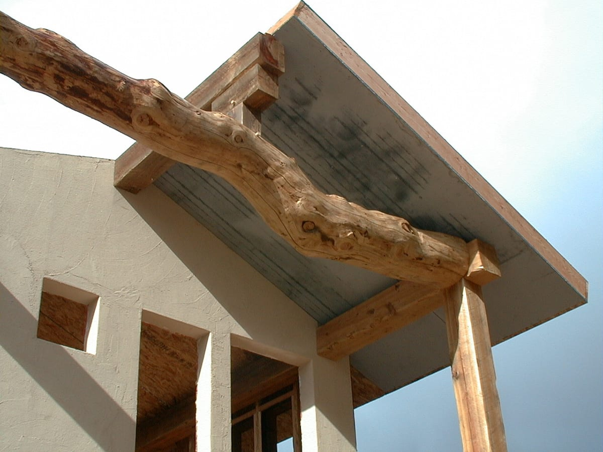 Wood Beam Construction ~ Post and beam framing reclaimed construction big