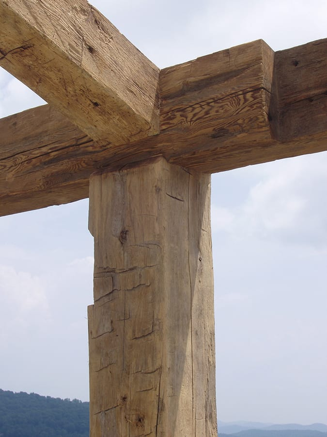 The Detail Shop >> Post and Beam Framing | Reclaimed Beam Construction | Big Timberworks