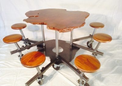 reclaimed tables