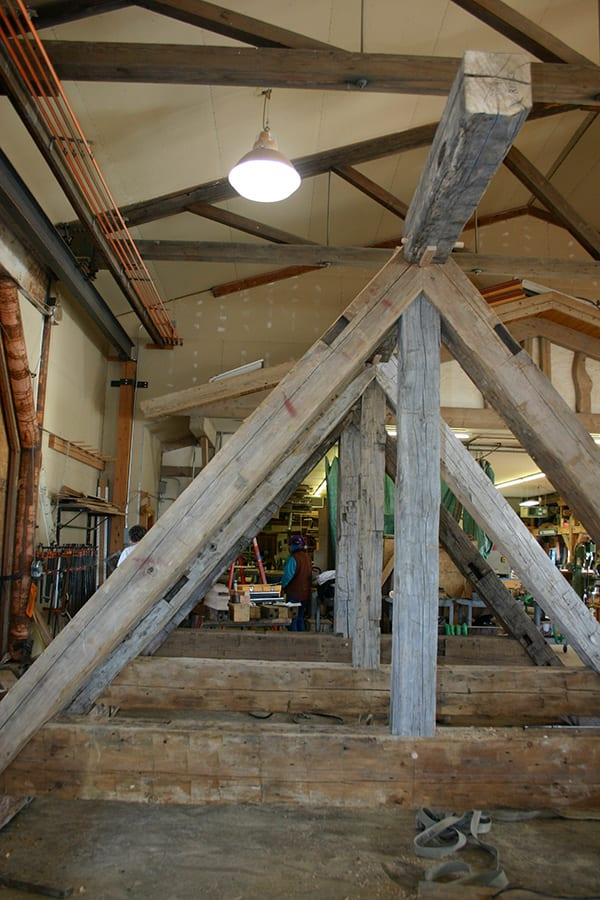 Choosing Reclaimed Timber Trusses Allows You Leave The Wood Exposed, Adding  Warmth And Character.