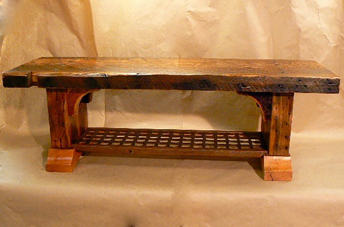 Reclaimed Wood Benches For Sale By Big Timberworks