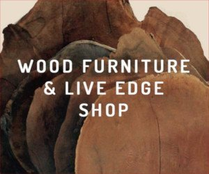 Wood furniture and live edge shop