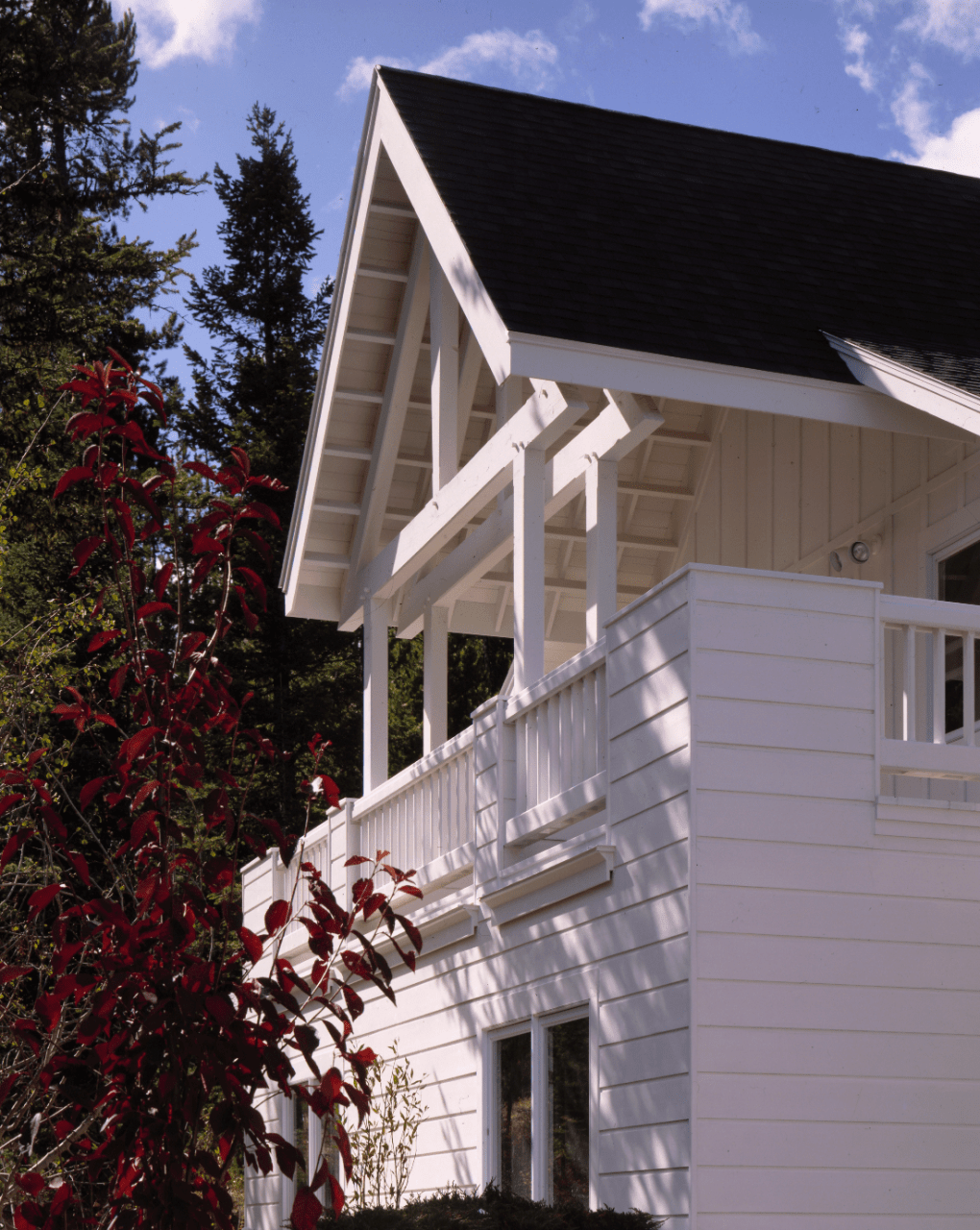 king-post-truss-painted-white-outside